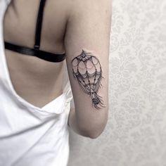 Tatuagem da Bárbara! Apesar dos tremiliques deu tudo certo no final, obrigada…
