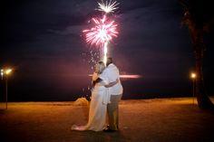 Amazing Keys wedding fireworks display at Coconut Cove Resort. www.coconutcove.net