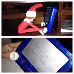 Leaving an Etch a Sketch note-Elf by ShannonHilton, via Flickr