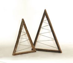Small Christmas Tree Small Zig Zag Triangle by GrindstoneDesign ...