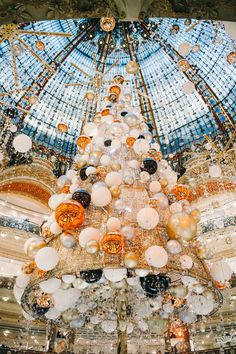 Новогодний шопинг в Galeries Lafayette (фото 2)