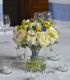 Wedding Flowers Blog: Joanna and Michael's Wedding Flowers ...