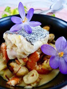 Cassolette de la mer au safran - Graine de faim kely