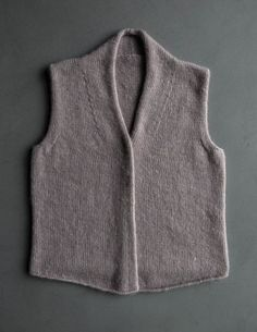 Ravelry: Foxglove Vest pattern by Purl Soho Knitting Patterns Free, Knit Patterns, Free Knitting, Free Pattern, Knit Vest Pattern, Purl Soho, How To Purl Knit, Knit Purl, Knitting Yarn