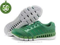 Officiel Adidas 2016 - Adidas Climacool 5 Amants Chaussures Vert (Gazelle Adidas Pas Cher)