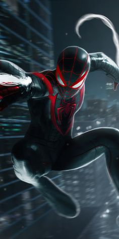 Miles Spiderman, Miles Morales Spiderman, Black Spiderman, Spiderman Movie, Amazing Spiderman, Spiderman Marvel, Hq Marvel, Marvel Comics Art, Marvel Heroes
