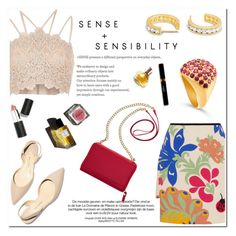 """Sense and Sensibility!"" by blossom-jewels on Polyvore featuring Victoria, Victoria Beckham, River Island, TravelSmith, Garance Doré, Sigma Beauty and Maryam Keyhani"