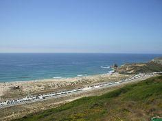 Santa Rita beach, Torres Vedras a minha praia favorita em Santa Cruz, onde o estacionamento não falta.... e a areia....