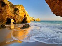 Portugal, Tres Irmaos beach