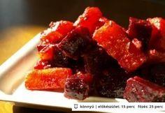 Sárgarépás-céklás saláta