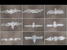 In this video I've shown some easy and simple border alpana /rangoli designs. Rangoli Side Designs, Simple Rangoli Border Designs, Rangoli Simple, Rangoli Borders, Rangoli Patterns, Free Hand Rangoli Design, Small Rangoli Design, Rangoli Ideas, Rangoli Designs Diwali
