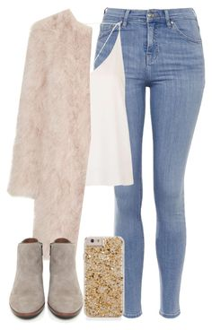 """""""✨"""" by welove1 ❤ liked on Polyvore featuring Topshop, Sam Edelman, women's clothing, women, female, woman, misses and juniors"""
