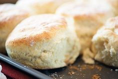 Homemade biscuits, as made by my dad! His biscuits are seriously the best - so light and fluffy and perfect every time. This is the best biscuit recipe ever! I recently shared a photo of Best Ever Biscuit Recipe, Gourmet Recipes, Cooking Recipes, Grandma's Recipes, Cooking Tips, Vegetarian Recipes, Recipies, Healthy Recipes, Best Homemade Biscuits