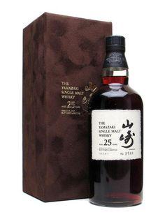Yamakazi 25 Year Old Single Malt Whiskey