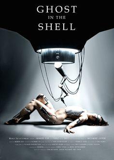 """Propuesta de póster para la adaptación de """"Ghost In The Shell"""""""