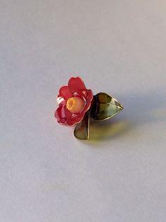 赤椿ピアスの作り方 - Togetterまとめ