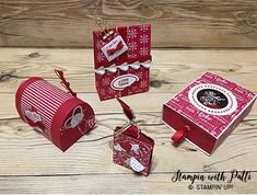 These treat packages were made with the new Sealed With Love Photopolymer Stamp Set, Love Notes Framelits Dies, and Sending Love Designer Series Paper Stack. This is a great set to have because you can use for Valentines Day projects, and so much more. Materials used: