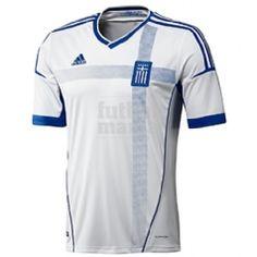 Primera equipación de Grecia para la Eurocopa del 2012. Consíguela aquí: http://www.futbolmanianet.com/futbol/X11766/camiseta-adidas-grecia-1a-12?orden==1
