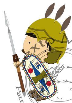 Legio I Vernácula - Princeps