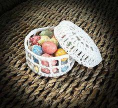 Bomboniera uncinetto scatolina. Crochet wedding favor. #wedding #favors #crochet