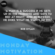 """A man is a success if he gets up in the morning and gets to bed at night, and in between he does what he wants to do."" Do you agree? Monday Motivation, Motivation Inspiration, Sound Service, Freelance Marketplace, Music Promotion, Group Of Companies, He Wants, Music Industry, Bob Dylan"