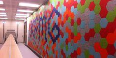 Kirei Geometry Tiles - CaraGreen