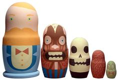 Super Punch: Enter the Dragon nesting dolls (and more)