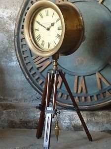 Vintage Double Sided Clock