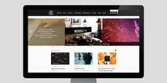 ADC Global Website on Behance