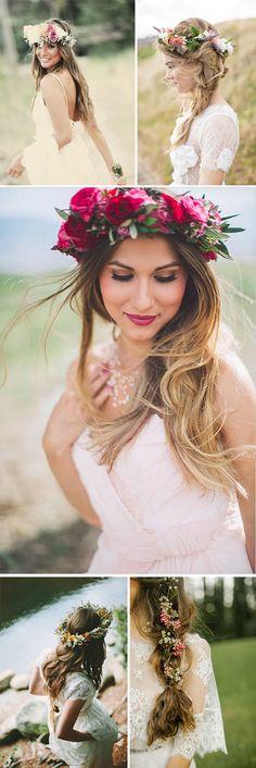 Bodas de primavera tocados pelo peinados novia invitada Happy New Year 2015, Instagram Wedding, Hair Inspiration, Wedding Flowers, Dream Wedding, Rustic Weddings, Bride, Beautiful, Fashion