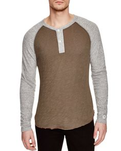 Todd Snyder + Champion Colorblock Henley