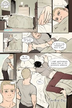 Support me on Patreon! => Reapersun@PatreonPage 1 - Page 2->I got lots of requests for Johnlock and particularly a continuation of my 30 Day OTP Challenge comics and so here are married John and Sherlock spending 8 pages in bed together :) Patreon funders are gonna get this comic first, but afterward I'll start posting the pages here too~ If you want more comics like this then support me through Patreon or reblogging my work!
