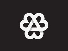 Dribbble - Love Triangle by George Bokhua
