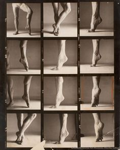 amamblog:  Richard Avedon is famous for his fashion photographs and charismatic portraits of iconic figures such as Marilyn Monroe, Andy Warhol, Dwight Eisenhower, and The Beatles. Rudolf Nureyev's Calf, a contact sheet focusing on the dancer's toned legs, represents Avedon's technical investigations into human anatomy. Rudolf Nureyev (1938-1993) was a noted Russian ballet dancer and protégé of Alexander Pushkin. Nureyev received his formal training at the prestigious Vaganova Academy in ...