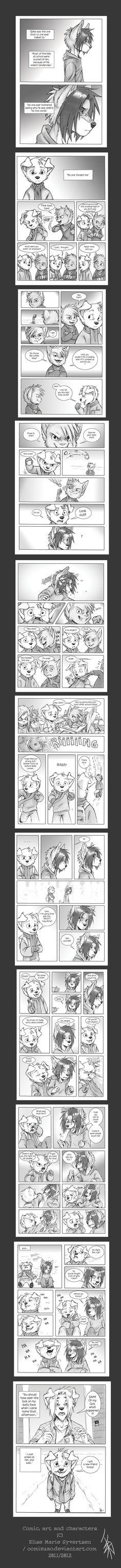 COMIC -Snow- updated by oomizuao on DeviantArt Old Comics, Cute Comics, Manga Comics, Creature Drawings, Animal Drawings, Furry Comic, Anthro Furry, Im Crazy, Zootopia