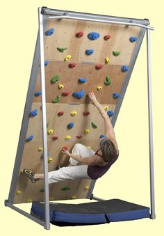 For those that like climbing, try out the endless indoor climbing systems from Brewers Ledge. (for me, just looking at it makes me outta of breath).