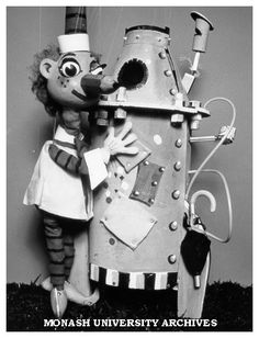 Mr Squiggle and Rocket...I used to watch this program on television when I got home from primary school in the 1970's