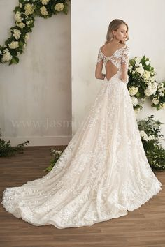 1a9061c57062 JASMINE BRIDAL. Illusion Neckline Wedding DressWedding Dress SleevesSophisticated  Wedding DressesBridal Wedding DressesWinter Wedding Dress BallgownWedding  ...