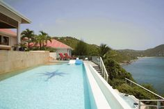 Villa Festival - is a very private and spectacular villa situated on Pointe Milou, St. Barts