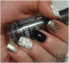 Nail 2 Express: Skittlette manikira s puščicami