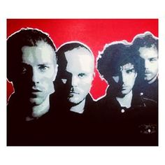 Coldplay painting by Hoozinc size: 4ftx5ft #acrylic