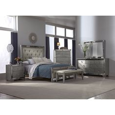 cool Mirrored Bedroom Furniture Sets