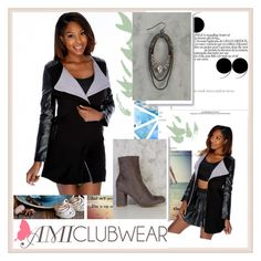 """""""AMICLUBWEAR 25"""" by damira-dlxv ❤ liked on Polyvore featuring amiclubwear"""