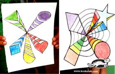оp-art for kids  PDF available by clicking on the picture at the web site.