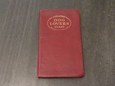 Vintage Collins' Dog Lover's  Diary 1936 by WhiteHartAntiques