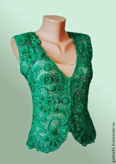 crochet irlandês &: Master Galina Andriyenko
