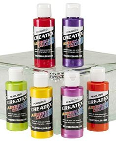 Createx Colors Pearl Sample Airbrush Set, 2oz. Createx Co... http://www.amazon.com/dp/B0088HUZLG/ref=cm_sw_r_pi_dp_FcXrxb0YJJDMJ
