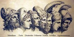 Greek Mythology - it is the body of myths and teachings that belong to ancient Greeks.It was part of the religion in ancient Greece.Greek myths began in the Bronze Age.Greek mythology is the. Art Of Manliness, Greek Gods And Goddesses, Greek And Roman Mythology, Ancient Greek City, Ancient Greece, Ancient Rome, Homer Iliad, Trojan War, God Of War