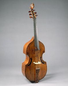 Viola da Gamba Maker: labeled Richard Meares (English, London 1647–1725 London) Date: ca. 1680 Geography: London, England, United Kingdom Culture: British Medium: Wood