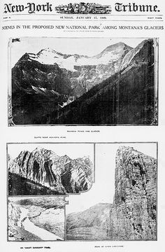 Research from primary sources...Scenes in the proposed new National Park among Montana's glaciers (LOC) by The Library of Congress, via Flickr